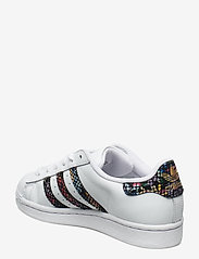 adidas Originals - SUPERSTAR W - låga sneakers - ftwwht/cblack/red - 2