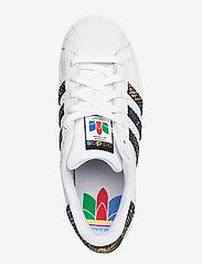 adidas Originals - SUPERSTAR W - låga sneakers - ftwwht/cblack/red - 3