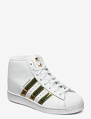 adidas Originals - SUPERSTAR UP W - hoge sneakers - ftwwht/goldmt/cblack - 0