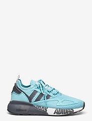 adidas Originals - ZX 2K BOOST W - lage sneakers - hazsky/grefou/ftwwht - 1