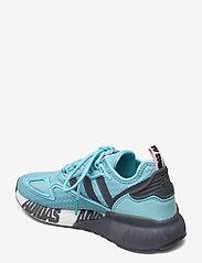 adidas Originals - ZX 2K BOOST W - lage sneakers - hazsky/grefou/ftwwht - 2