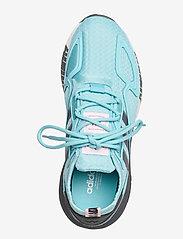 adidas Originals - ZX 2K BOOST W - lage sneakers - hazsky/grefou/ftwwht - 3