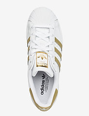 adidas Originals - Superstar W - sneakers - ftwwht/goldmt/ftwwht - 3