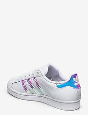 adidas Originals - SUPERSTAR W - sneakers - ftwwht/goldmt/cblack - 2