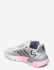 adidas Originals - NITE JOGGER W - chunky sneaker - crywht/silvmt/globlu - 2