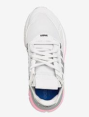 adidas Originals - NITE JOGGER W - chunky sneaker - crywht/silvmt/globlu - 3