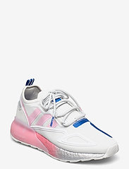 adidas Originals - ZX 2K Boost W - lage sneakers - crywht/trupnk/msilve - 0