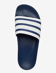 adidas Originals - ADILETTE - tenisówki - adiblu/wht/adiblu - 3