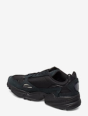 adidas Originals - FALCON W - chunky sneakers - cblack/cblack/grefiv - 2