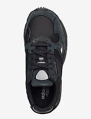 adidas Originals - FALCON W - chunky sneakers - cblack/cblack/grefiv - 3