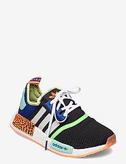adidas Originals - NMD_R1 - laag sneakers - cblack/ftwwht/scrora - 0