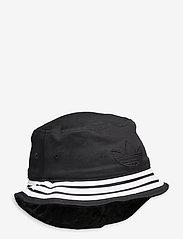 adidas Originals - VELVET BUCKET - bucket hats - black/mgsogr - 0