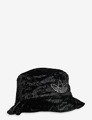 adidas Originals - VELVET BUCKET - bucket hats - black/mgsogr - 2