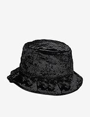 adidas Originals - VELVET BUCKET - bucket hats - black/mgsogr - 3