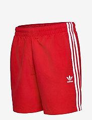 adidas Originals - 3 STRIPE SWIMS - badehosen - scarle - 2