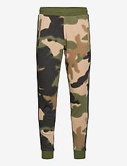 adidas Originals - Camo Sweat Pants - treenihousut - wilpin/multco/black - 0