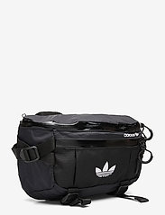 adidas Originals - ADV WAISTBAG L - midjeveske - black/white - 2