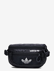 adidas Originals - Adventure Waist Bag Small - midjeveske - black/white - 0