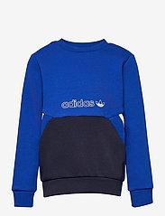adidas Originals - SPRT Collection Crew Sweatshirt - sweatshirts - royblu/legink - 0