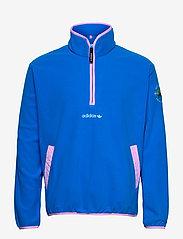 adidas Originals - Adventure Polar Fleece Half-Zip Sweatshirt - podstawowe bluzy - globlu - 1