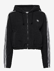 adidas Originals - Adicolor Classics Polar Fleece Full-Zip Hoodie W - fleece - black - 2