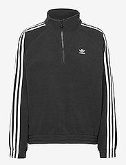 adidas Originals - Adicolor Classics Polar Fleece Half-Zip Sweatshirt W - fleece - black - 1