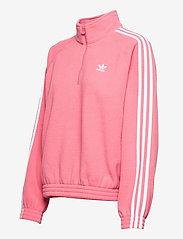 adidas Originals - Adicolor Classics Polar Fleece Half-Zip Sweatshirt W - fleece - hazros - 3