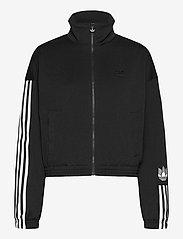 adidas Originals - Adicolor 3D Trefoil Track Jacket W - sweatshirts - black - 1
