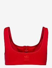 adidas Originals - Adicolor Classics Primeblue Bikini Top W - bikini bandeau - scarle - 2