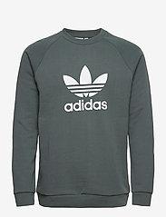 adidas Originals - Trefoil Warm-Up Crew Sweatshirt - basic sweatshirts - bluoxi - 1