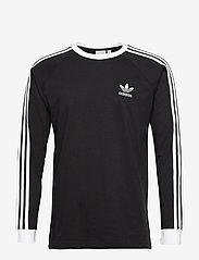 adidas Originals - Adicolor Classics 3-Stripes Long Sleeve T-Shirt - langermede topper - black - 1