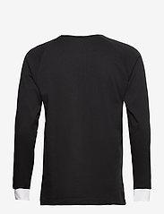 adidas Originals - Adicolor Classics 3-Stripes Long Sleeve T-Shirt - langermede topper - black - 2