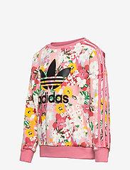 adidas Originals - HER Studio London Floral Crew Sweatshirt - sweatshirts - trapnk/multco/black - 2