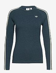 adidas Originals - Fakten Long Sleeve T-Shirt W - topjes met lange mouwen - crname/crenav/white - 1