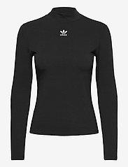adidas Originals - Adicolor Essentials Long Sleeve T-Shirt W - langærmede toppe - black - 1