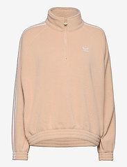 Adicolor Classics Polar Fleece Half-Zip Sweatshirt - HALBLU/WHITE