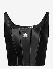 adidas Originals - Corset W - navel shirts - black - 1