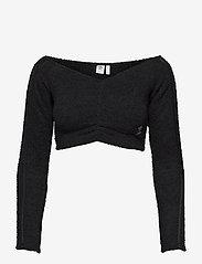 adidas Originals - Crop Top W - crop tops - black - 1