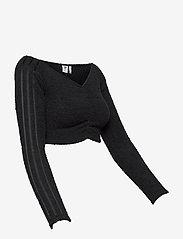 adidas Originals - Crop Top W - navel shirts - black - 4