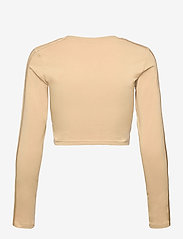adidas Originals - Crop Long Sleeve T-Shirt W - langærmede toppe - hazbei - 2