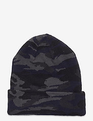 adidas Originals - Camo Knit-Cuff Beanie - mössor - gresix/black/legink/c - 1