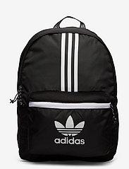 adidas Originals - Adicolor Classic Backpack - nyheter - black/white - 0