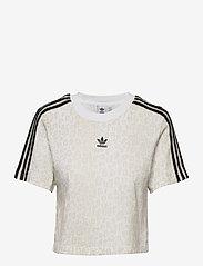 adidas Originals - Cropped T-Shirt W - crop tops - multco/white/talc - 1