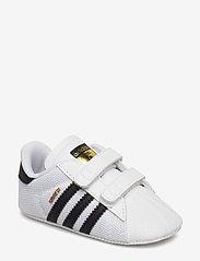 adidas Originals - SUPERSTAR CRIB - hausschuhe - ftwwht/cblack/ftwwht - 0