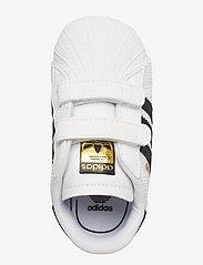 adidas Originals - SUPERSTAR CRIB - hausschuhe - ftwwht/cblack/ftwwht - 3