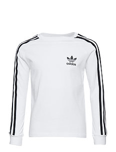 3STRIPES LS - långärmade t-shirts - white/black