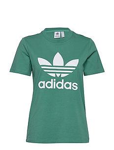 adidas Originals 3 Stripes Lock Up Boyfriend T Shirt Dame