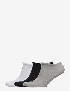 TREFOIL LINER - WHITE/BLACK/MGREYH