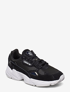 FALCON W - chunky sneakers - cblack/cblack/ftwwht