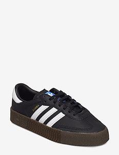 Sambarose W - låga sneakers - cblack/ftwwht/gum5